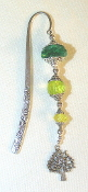 Green Crystal Bookmark