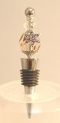 Champagne Crystal Wine Bottle Stopper