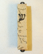 Gold Threads Mezuzah