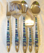 Beaded Serving Utensils - River Jordan