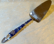 Beaded Dessert Server - Evening Star