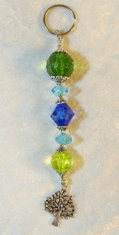 Sea Colors Crystal Key Chain