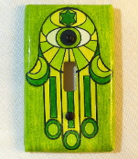 Hamsa Light Switch Plate