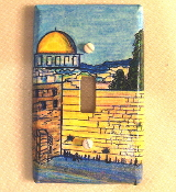 The Kotel - Light Switch Plate