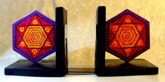 Star of David Bookends