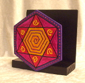 Star of David Napkin Holder