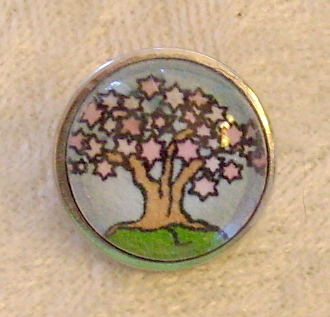 Tree of Life 1 - Snap Button