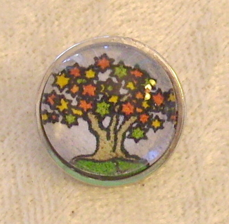 Tree of Life 6 - Snap Button