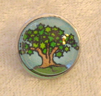 Tree of Life 7 - Snap Button