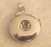 Pendant for Snap Button Jewelry