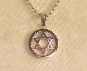 Star of David Necklace - Silver