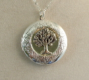 Lockets - Silver Tree of Life