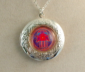 Lockets - Red Hamsa