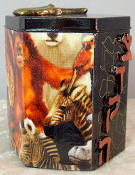 Decorative Tzedakah Box - God's Beautiful Creatures