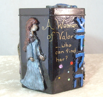 Tzedakah Box - A Woman of Valor