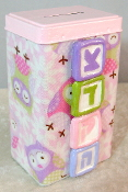 Tzedakah Box - Baby Owls