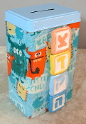 Tzedakah Box - Little Monsters