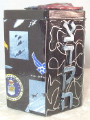 Our Heros Tzedakah Box - Salute to Our Air Force I