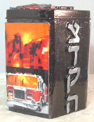 Our Heros Tzedakah Box - Salute to Our Fire Fighters