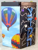Decorative Tzedakah Box - Up, Up, and Away