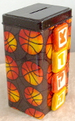 Tzedakah Box - Shoot the Hoops