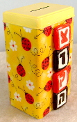 Tzedakah Box - Lady Bugs