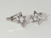 Star of David Cuff Links
