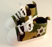 "Camo ""All-Stars"" Baby Shoes"
