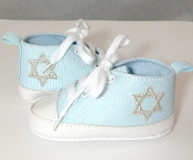 "Baby Blue ""All-Stars"" Baby Shoes"