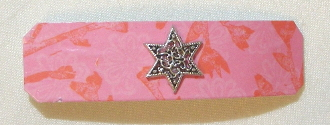 Pink and Red Barrette