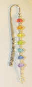 Bright Rainbow Crystal Bookmark