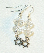 Twin Clear Crystal Earings