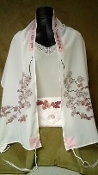 Tallit - Cherry Blossoms