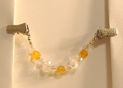 Sunkist Orange Tallit Clips