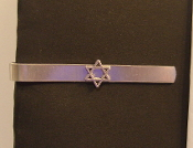 Star of David Tie Bar