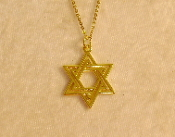 Star of David Necklace - 011