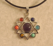 Star of David Chakra Necklace