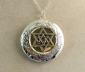 Lockets - Silver Star of David