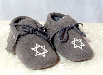 Baby Shoes - Charcoal