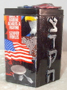 Our Heros Tzedakah Box - Salute to Our Marines