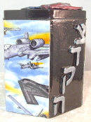 Our Heros Tzedakah Box - Salute to Our Air Force II