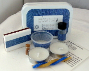 Travel Shabbat Kit - Forever in Blue Jeans
