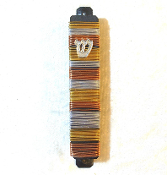 Gold, Silver, Copper Wired Mezuzah
